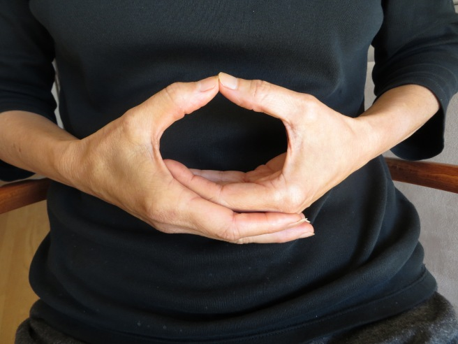 Heart Calming Mudra