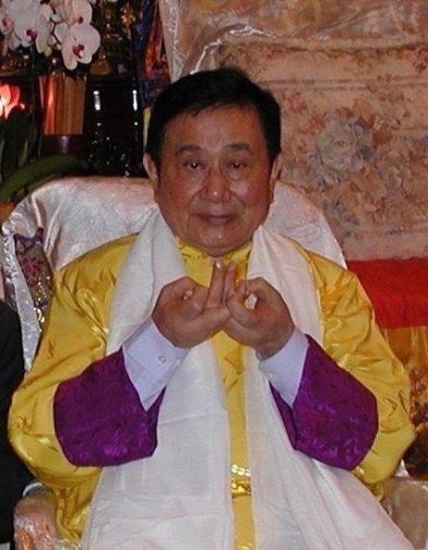 Master Lin Yellow robe